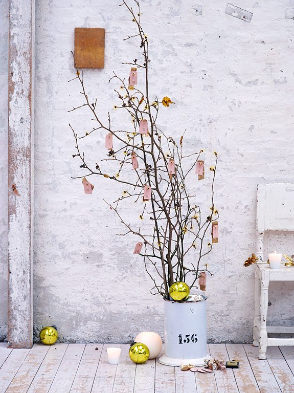 adventsdeko deko ideen aus der natur sch ner wohnen. Black Bedroom Furniture Sets. Home Design Ideas