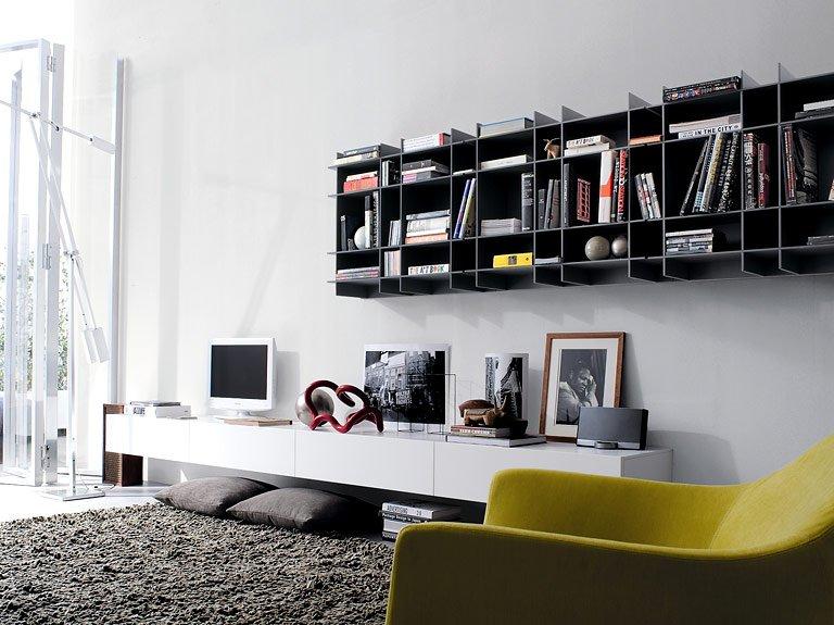 Tv Mobel Sintesi Von Poliform Bild 23 Schoner Wohnen