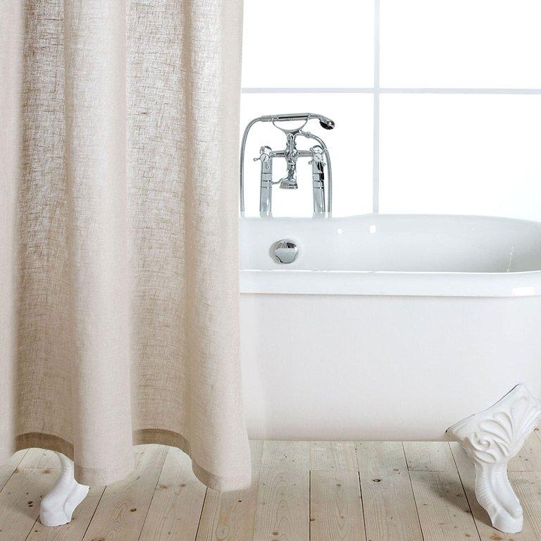fotostrecke design f rs bad duschvorh nge sch ner wohnen. Black Bedroom Furniture Sets. Home Design Ideas
