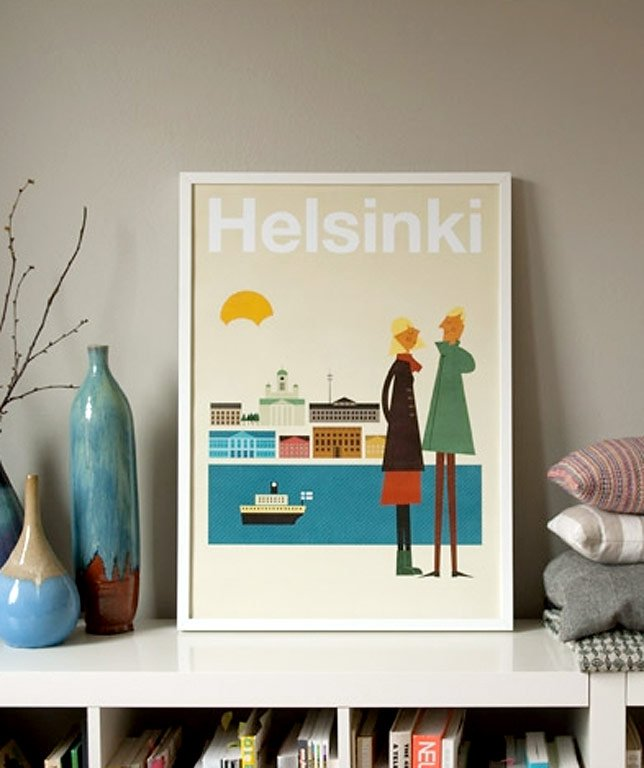 zum bestellen f r nordlichter helsinki city poster von human empire bild 8 sch ner wohnen. Black Bedroom Furniture Sets. Home Design Ideas