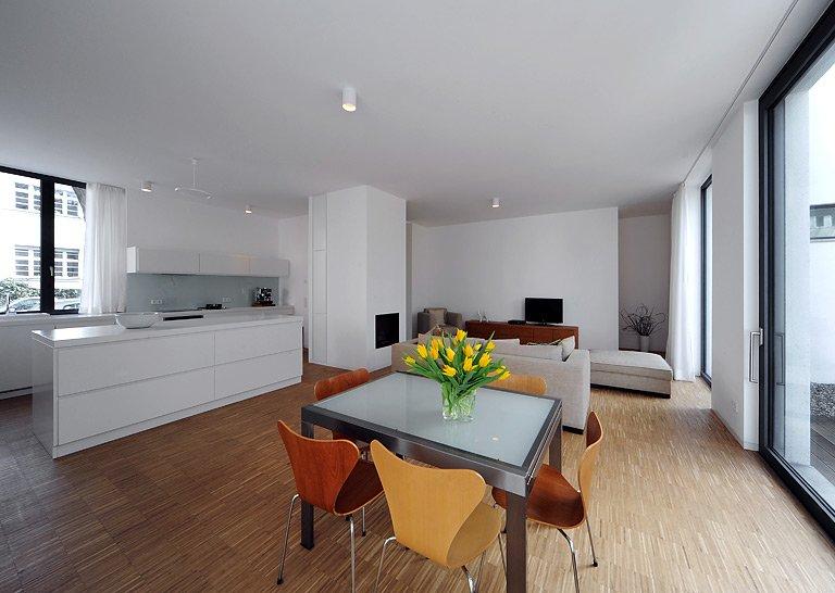 Moderne häuser innen schlafzimmer  HÄUSER-AWARD 2013: Haus für zwei Familien in Berlin, innen - Bild ...