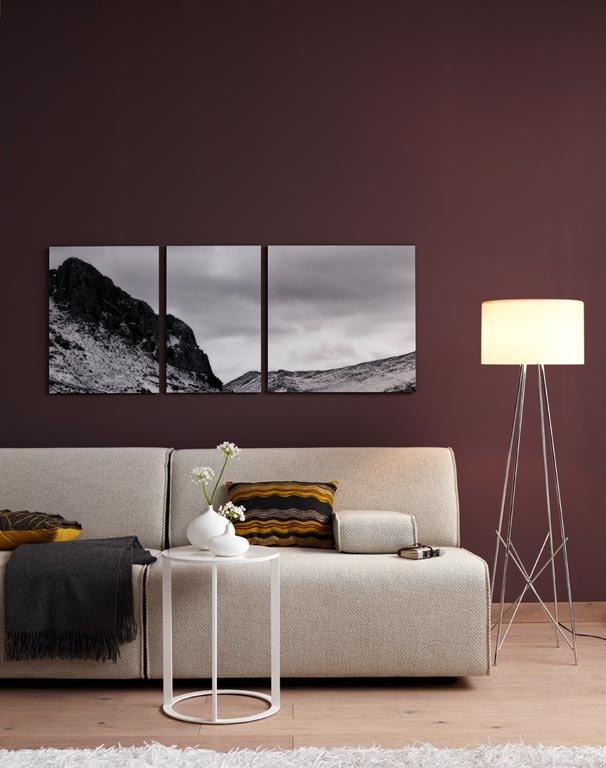 Inspiration: Dunkelbraun für moderne Kuschelzone - Bild 10