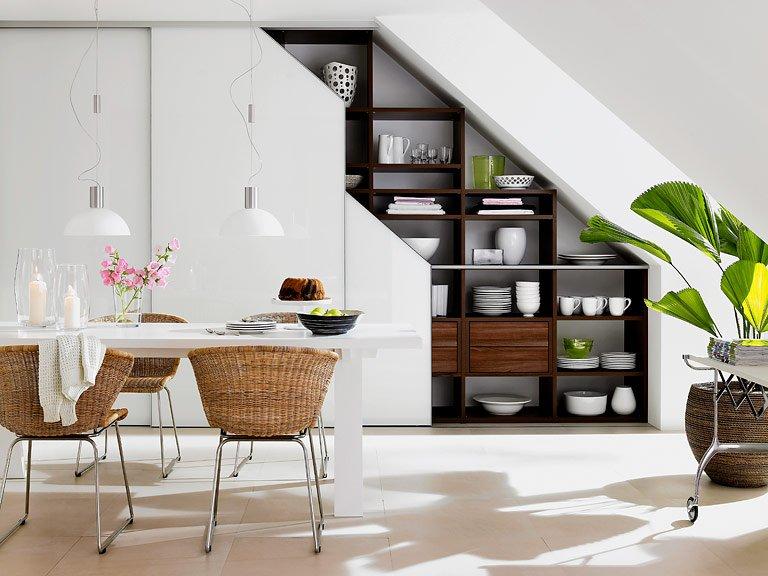 Popular Wohntipps für Räume mit Dachschrägen: Sitzplatz unter Dachschräge IC83