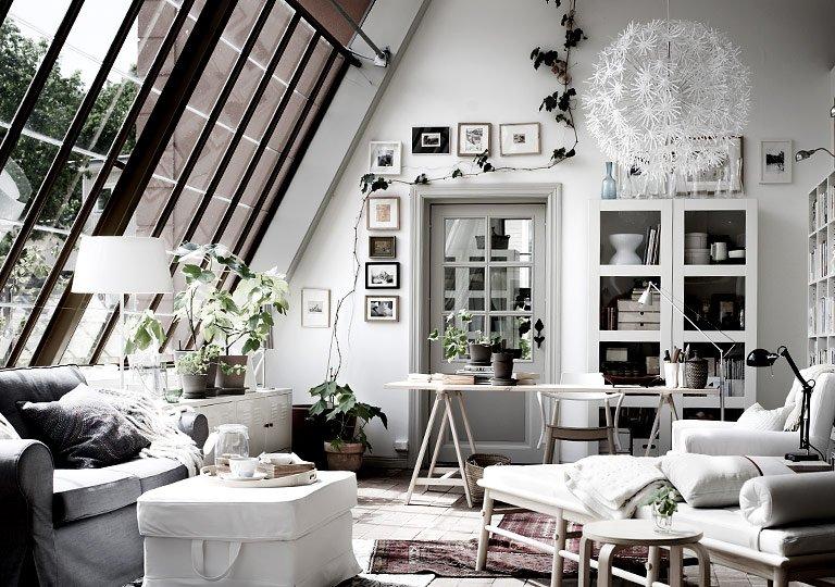 Bekannt Die Dachschräge - Möbel und Farbe für schräge Dächer - [SCHÖNER RN66