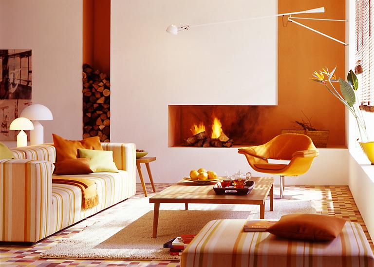 warme aber frische toene fuers wohnzimmer schoener wohnen