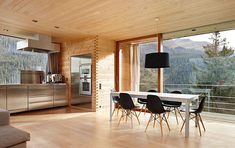 Architektur ferienhaus von star architekt peter zumthor for Neues haus einrichten