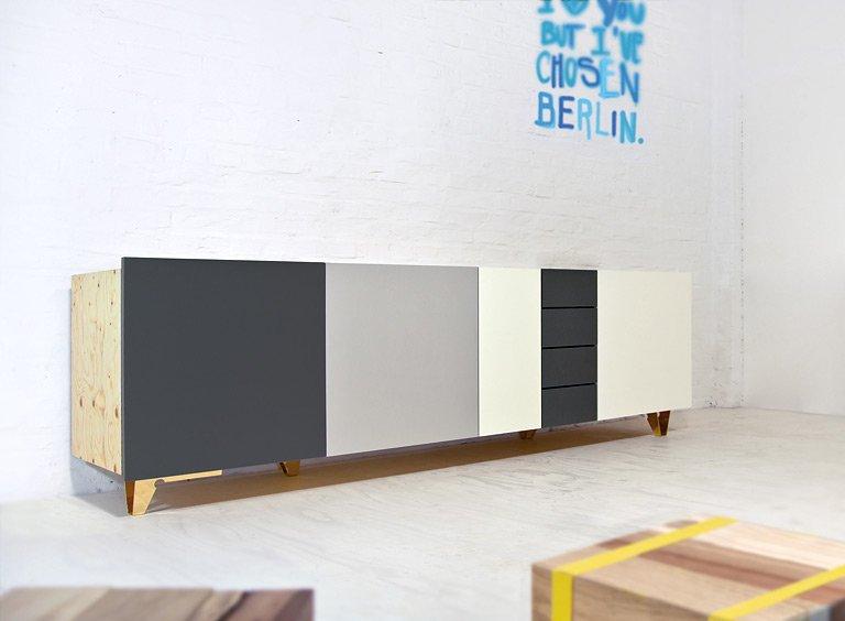 fotostrecke sideboard starbuck von supergrau bild 3 sch ner wohnen. Black Bedroom Furniture Sets. Home Design Ideas