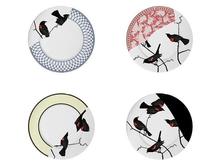 fotostrecke m bel und accessoires mit patchwork muster sch ner wohnen. Black Bedroom Furniture Sets. Home Design Ideas