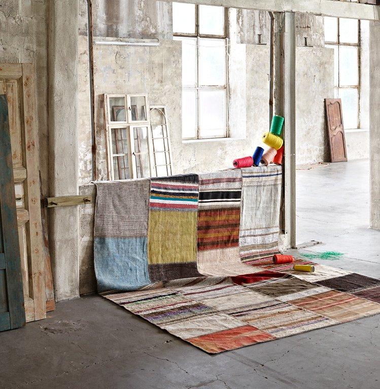 fotostrecke teppich fusion von miinu bild 7 sch ner wohnen. Black Bedroom Furniture Sets. Home Design Ideas