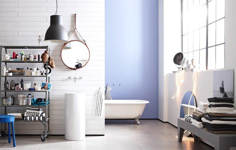 fotostrecke au ergew hnliche fliesen f r abwechslung im bad bild 9 sch ner wohnen. Black Bedroom Furniture Sets. Home Design Ideas
