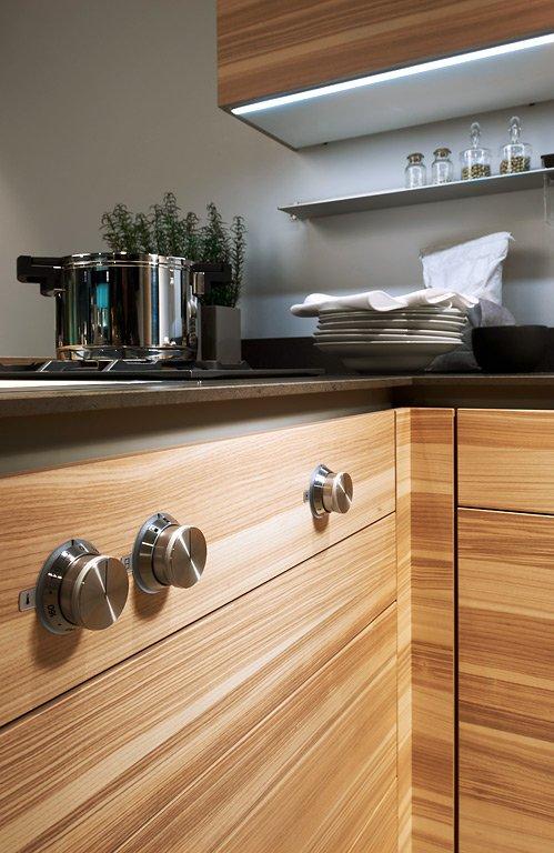 "Trend: Natur: Holz als Blickfang: Küche ""FG 392"" von Poggenpohl ..."