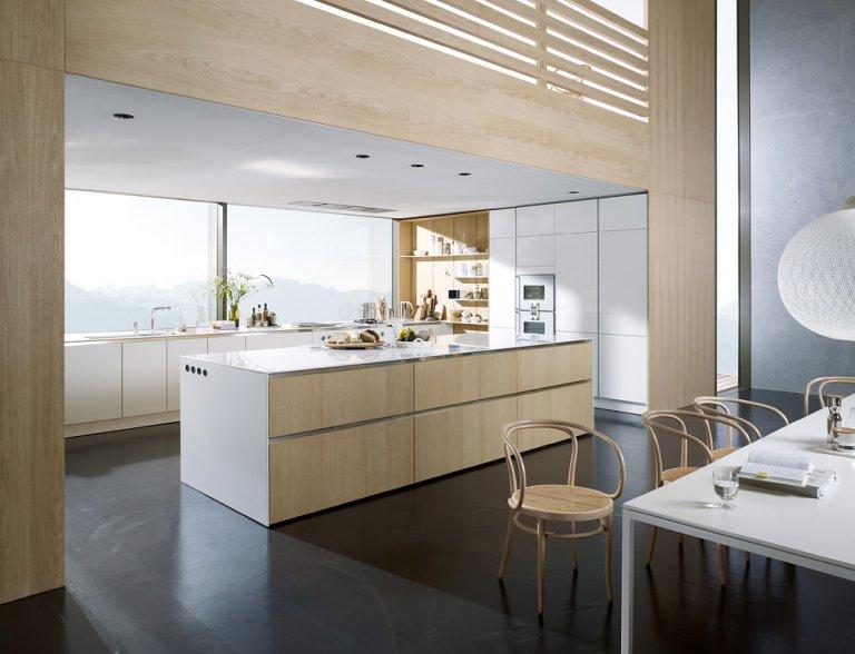 Moderne landhausküche siematic  Trend: Natur: Harmonie dank Holz: