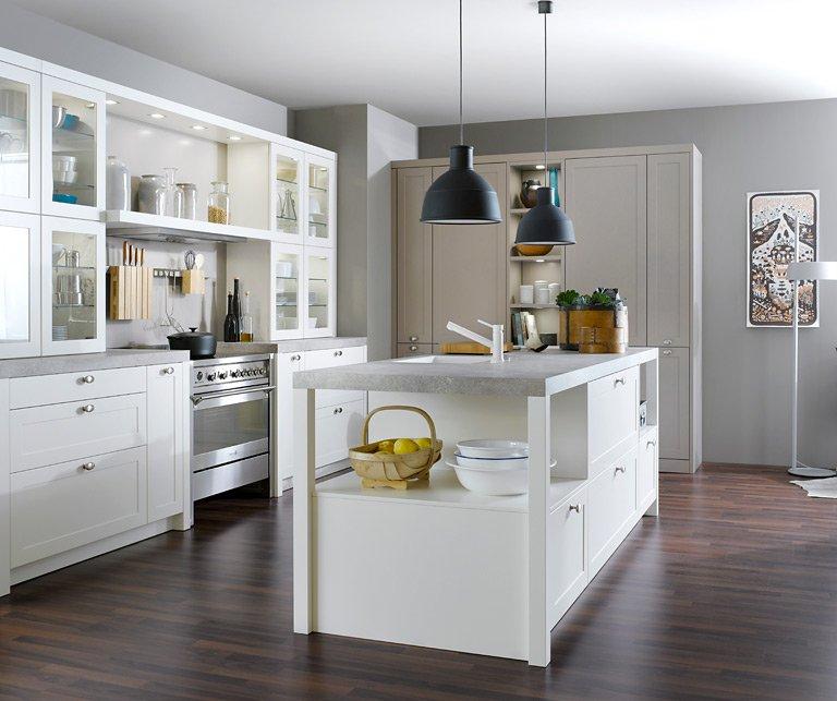 Gut gemocht Landhaus-Küchen – schöne Küchen im Landhausstil - [SCHÖNER WOHNEN] ZV38