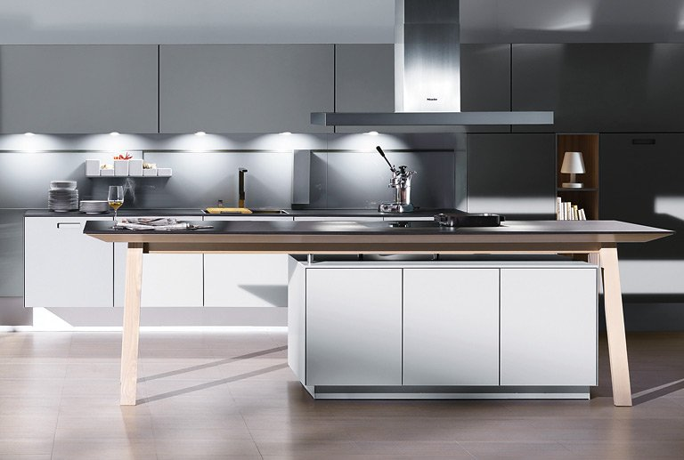 trend materialien optisch leicht k che nx902 von. Black Bedroom Furniture Sets. Home Design Ideas
