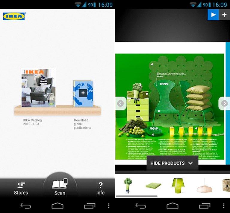 iphone android der gelbe riese ikea katalog bild 14 sch ner wohnen. Black Bedroom Furniture Sets. Home Design Ideas