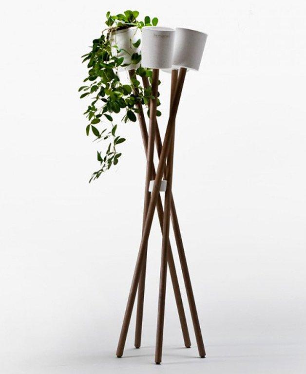 Wohnen mit pflanzen cleveres design f r zimmerpflanzen for Topfpflanzen dekorieren