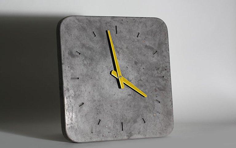 wanduhr kollektion klassik aus beton sch ner wohnen. Black Bedroom Furniture Sets. Home Design Ideas