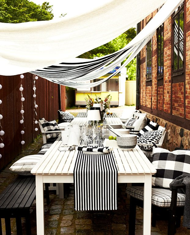 f r ein bisschen luxus pavillon und lounge m bel pplar ikea f r drau en 2013 15 sch ner. Black Bedroom Furniture Sets. Home Design Ideas
