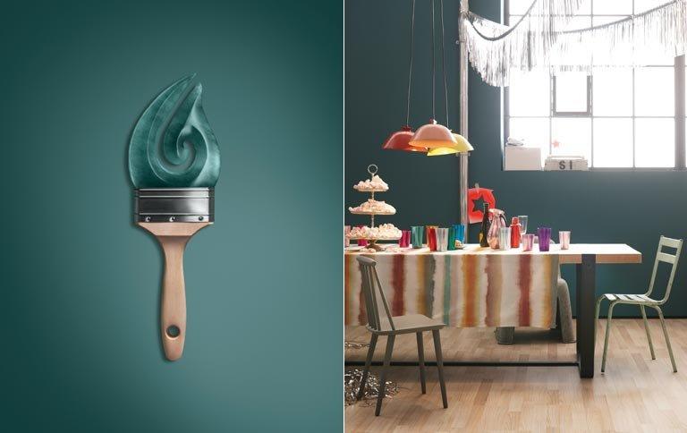 Wohnen Mit Farben Trendfarbe Jade