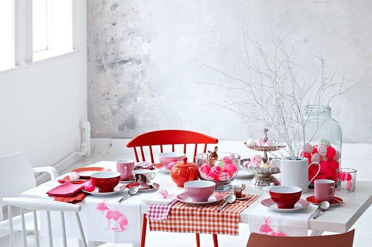 Tischdekoration: Tisch 3: Pink und poppig - Bild 9 - [SCHÖNER WOHNEN]