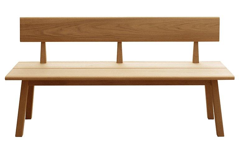 gartenbank tiera in klassischer shaker form sch ner. Black Bedroom Furniture Sets. Home Design Ideas