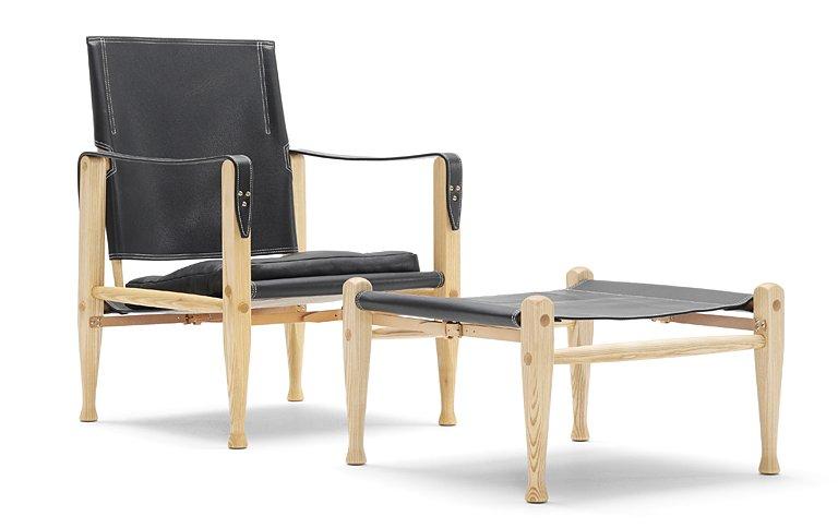 30er jahre sessel safari chair bei carl hansen sch ner wohnen. Black Bedroom Furniture Sets. Home Design Ideas