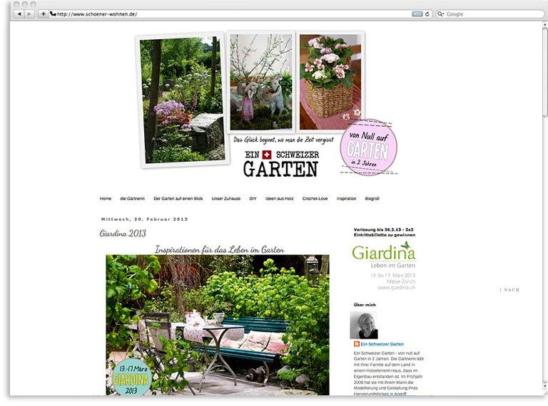 Inspiration Die Besten Gartenblogs Schöner Wohnen