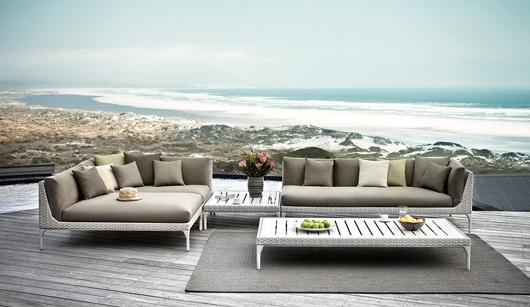 outdoor sitzlandschaft mu von dedon bild 31 sch ner. Black Bedroom Furniture Sets. Home Design Ideas
