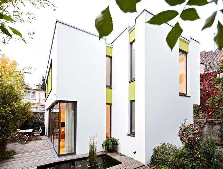 Architektenhäuser: Architektur Mit Sichtschutz - Bild 2 - [schÖner ... Mauerwerk Als Sichtschutz Haus Design Idee