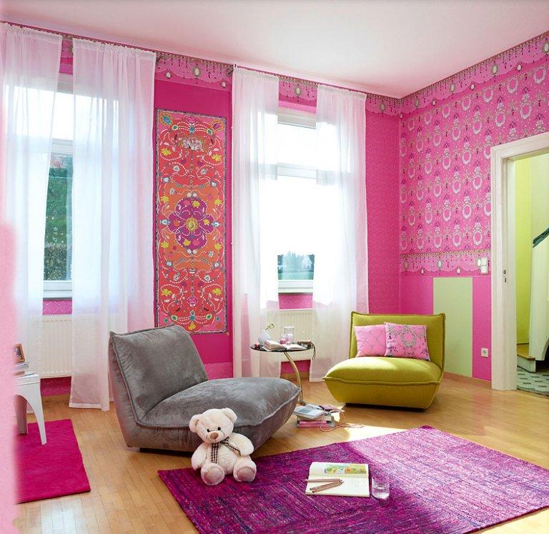 pink orientalisch wohnzimmer | ziakia ? timeschool.info - Wohnzimmer Ideen Pink