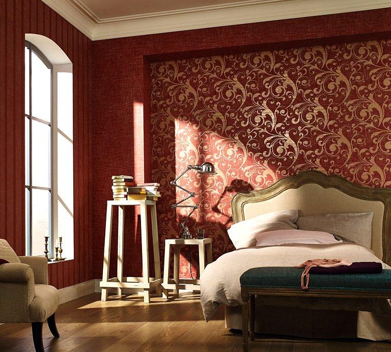 barock tapete schlafzimmer - tapeten 2017 - Barock Tapete Wohnzimmer Weis