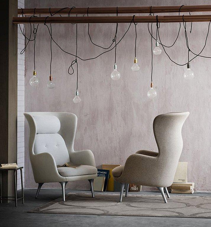 neuer ohrensessel ro bei fritz hansen tipp des tages sch ner wohnen. Black Bedroom Furniture Sets. Home Design Ideas