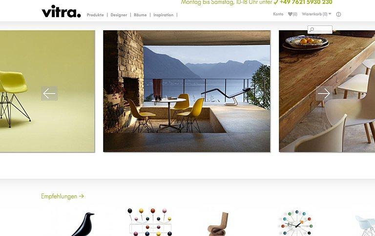 vitra startet eigenen online shop tipp des tages. Black Bedroom Furniture Sets. Home Design Ideas