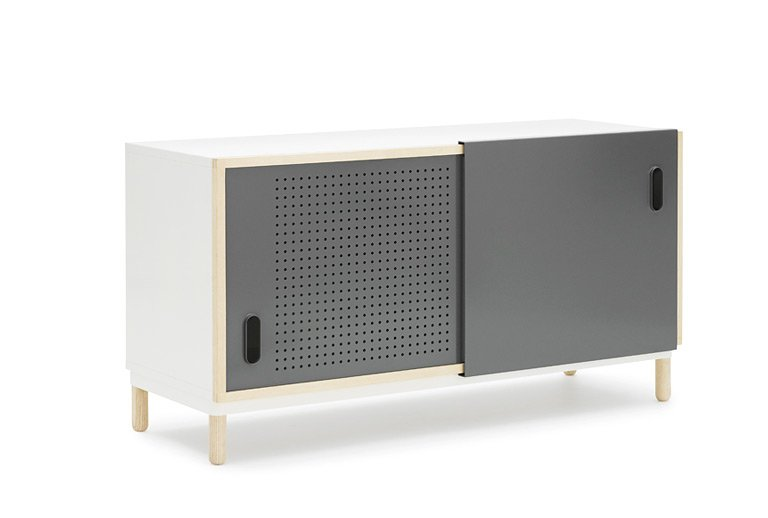 sideboard kabino bei normann copenhagen sch ner wohnen. Black Bedroom Furniture Sets. Home Design Ideas