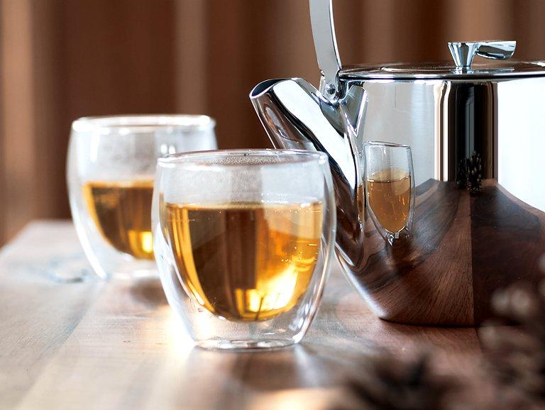 Doppelt gut: Tee- und Kaffeeglas \