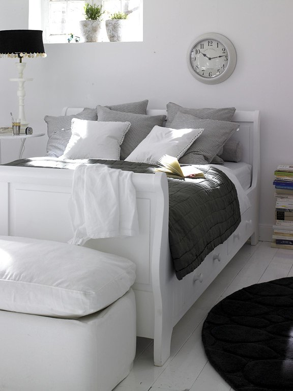 stauraumbetten inkl bettkasten schubladen sch ner wohnen. Black Bedroom Furniture Sets. Home Design Ideas
