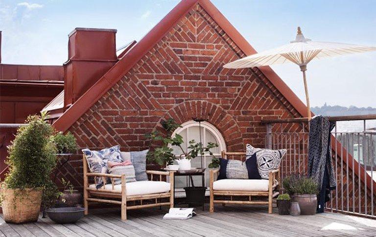 Mbel Outdoor Bamboo Lounge Von Tine K Home Bild 5