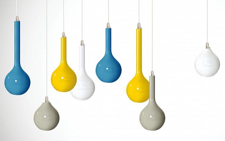 pendelleuchte drip light aus keramik tipp des tages sch ner wohnen. Black Bedroom Furniture Sets. Home Design Ideas