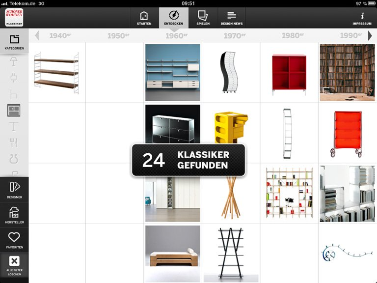 f rs ipad nach kategorien filtern bild 5 sch ner wohnen. Black Bedroom Furniture Sets. Home Design Ideas