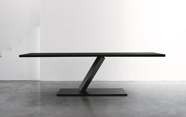 Tisch element mit markanter konstruktion sch ner wohnen - Balances online roset ...