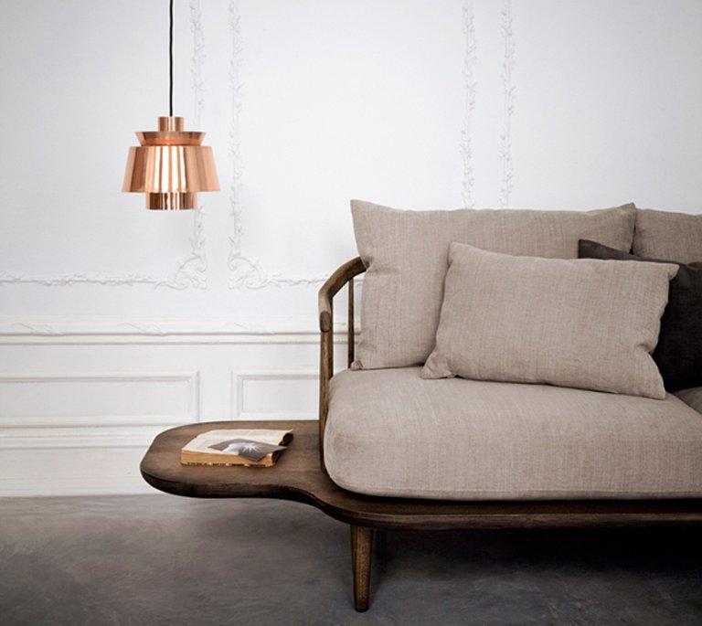 avantgardistisches sofa fly bei tradition sch ner wohnen. Black Bedroom Furniture Sets. Home Design Ideas