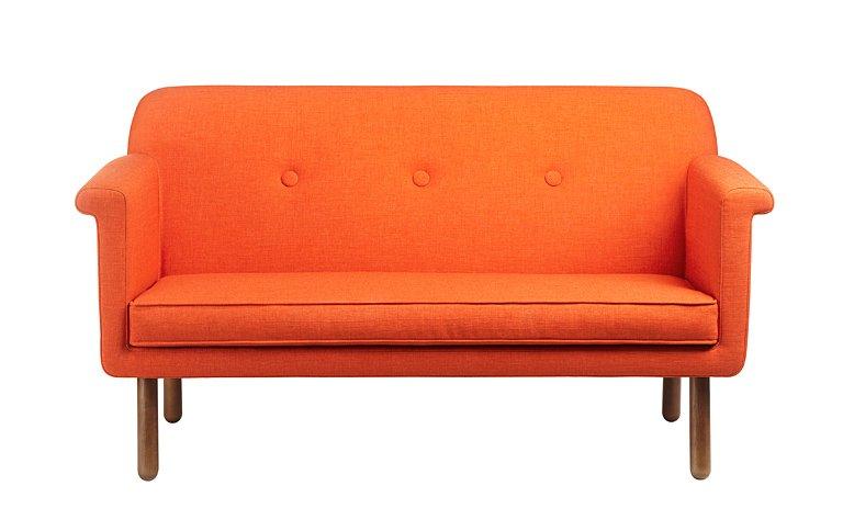 eleganter zweisitzer bei orla kiely sch ner wohnen. Black Bedroom Furniture Sets. Home Design Ideas