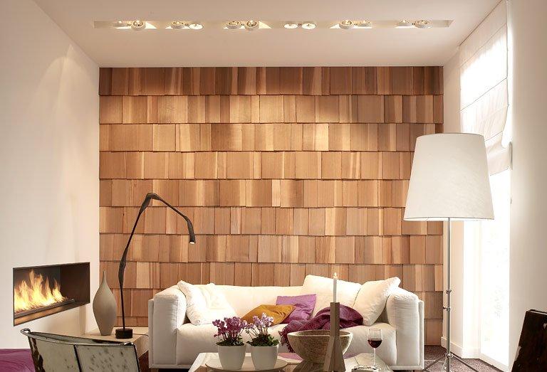 wie gemauert wandpaneele von oldstones wandgestaltung selber machen 2 sch ner wohnen. Black Bedroom Furniture Sets. Home Design Ideas