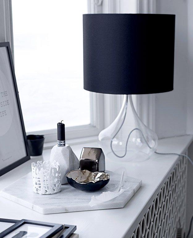 Kerzen Deko Schlafzimmer: Kerzenhalter Aus Marmor Von Bloomingville