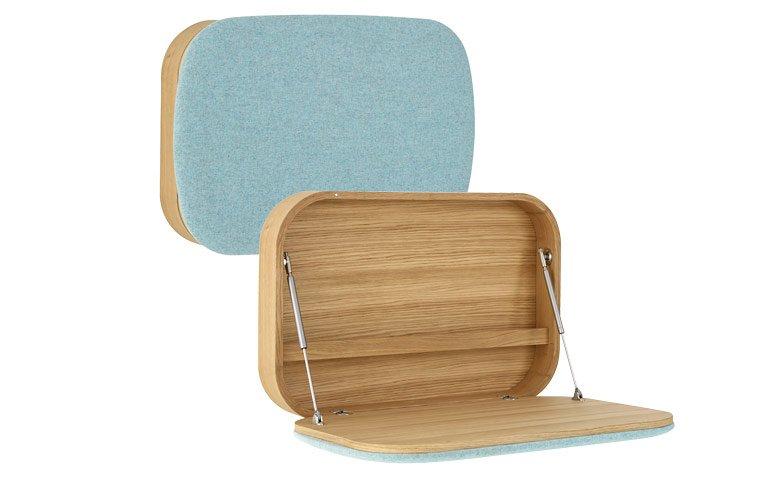 einrichten moderne kleinm bel f r die wand sch ner wohnen. Black Bedroom Furniture Sets. Home Design Ideas