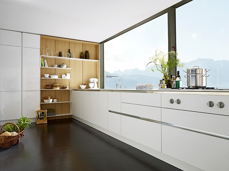 kompakt und formsch n ohne grenzen floating spaces von siematic bild 10 sch ner wohnen. Black Bedroom Furniture Sets. Home Design Ideas