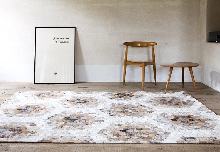 teppich taiga von lambert wohnen mit fell 12 sch ner wohnen. Black Bedroom Furniture Sets. Home Design Ideas