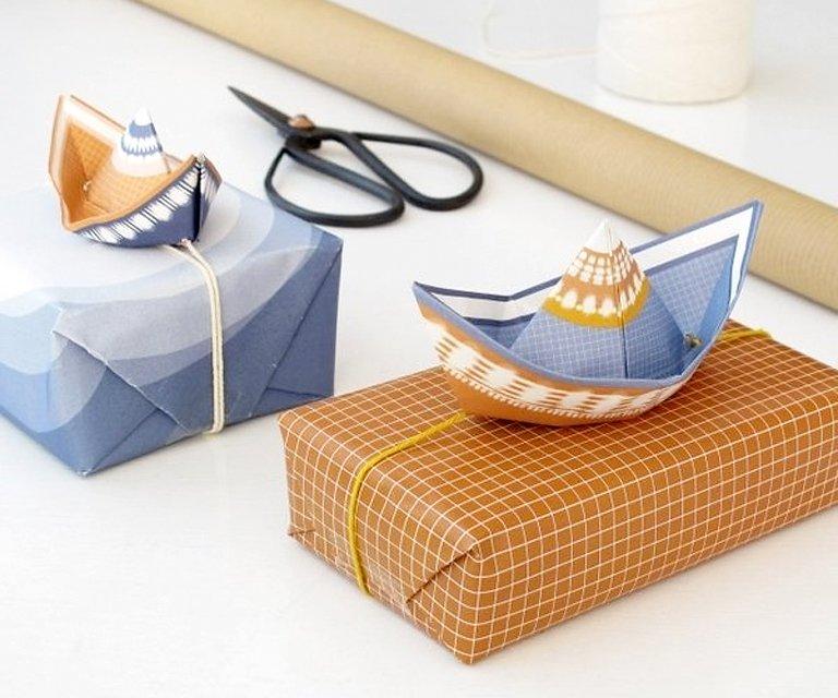 geschenke bis 50 euro diy papierboote fleet von. Black Bedroom Furniture Sets. Home Design Ideas