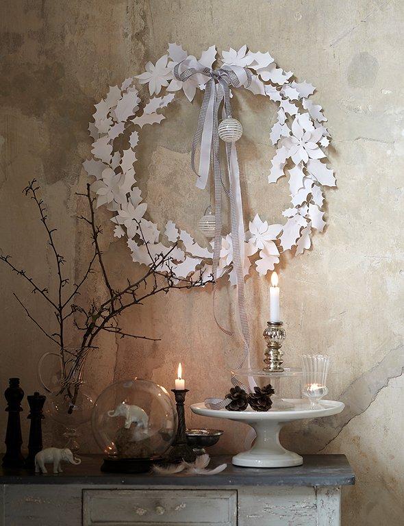 selber machen adventskranz light bild 6 sch ner wohnen. Black Bedroom Furniture Sets. Home Design Ideas