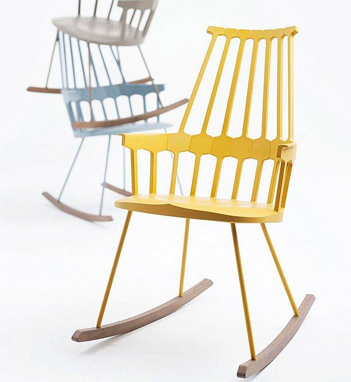 schaukelstuhl comeback chair von kartell bild 3. Black Bedroom Furniture Sets. Home Design Ideas
